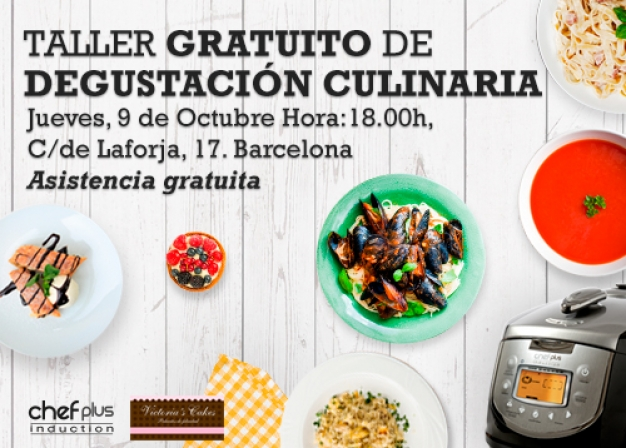 Chef Plus Induction_Taller gratuito de degustación culinaria Barcelona