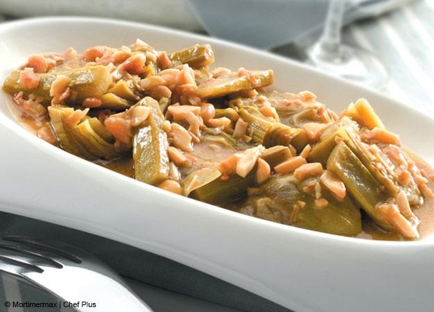 Receta para cocinar alcachofas rehogadas chef plus for Cocinar alcachofas
