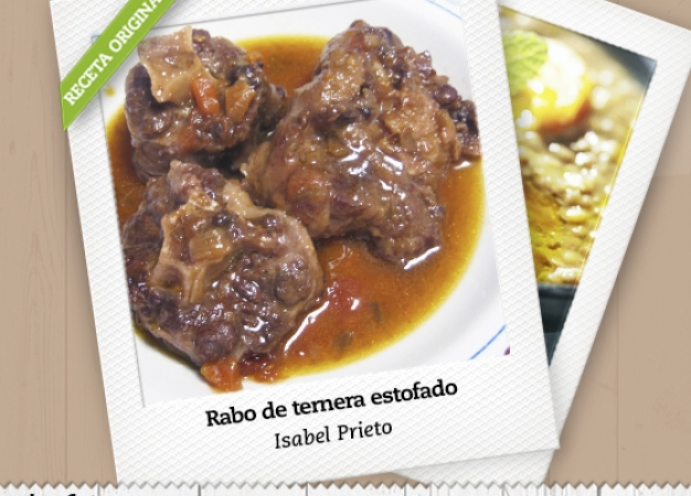 Rabo de ternera estofado chef plus - Rabo de ternera estofado ...